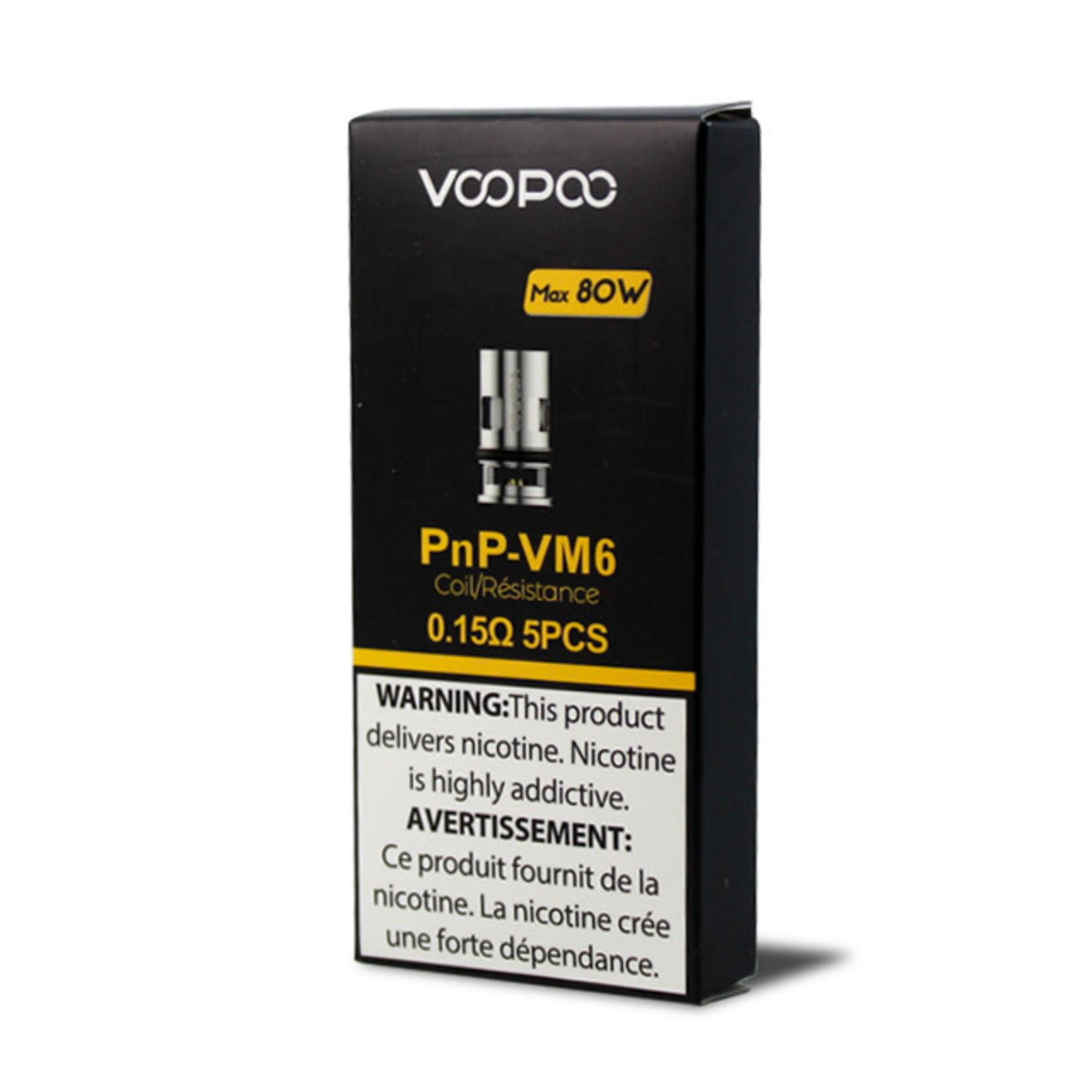 Voopoo Vinci PNP Replacement Coil VM6 0.15 ohm Pack (5pcs)