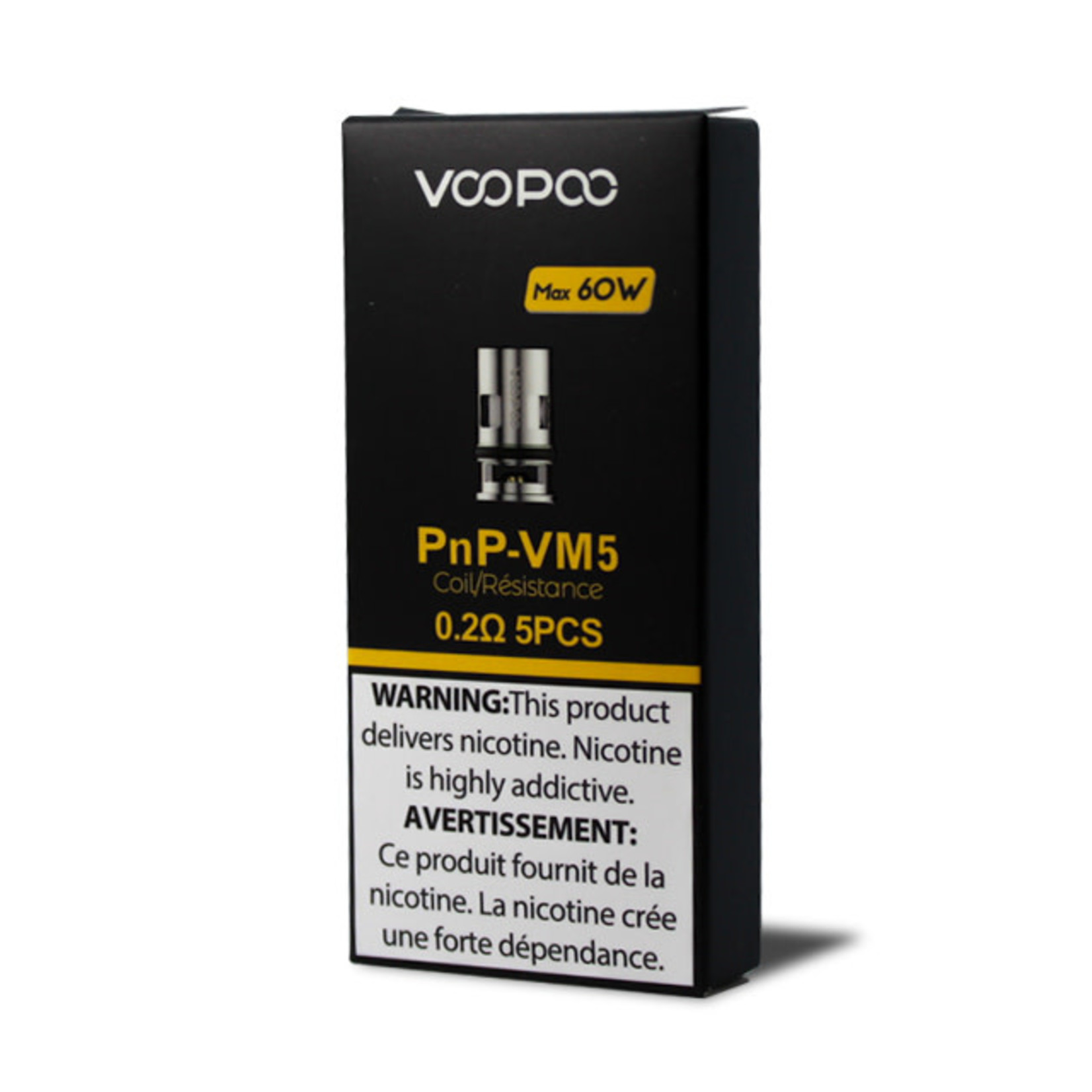 Voopoo Vinci PNP Replacement Coil VM5 0.2 ohm Pack (5pcs)