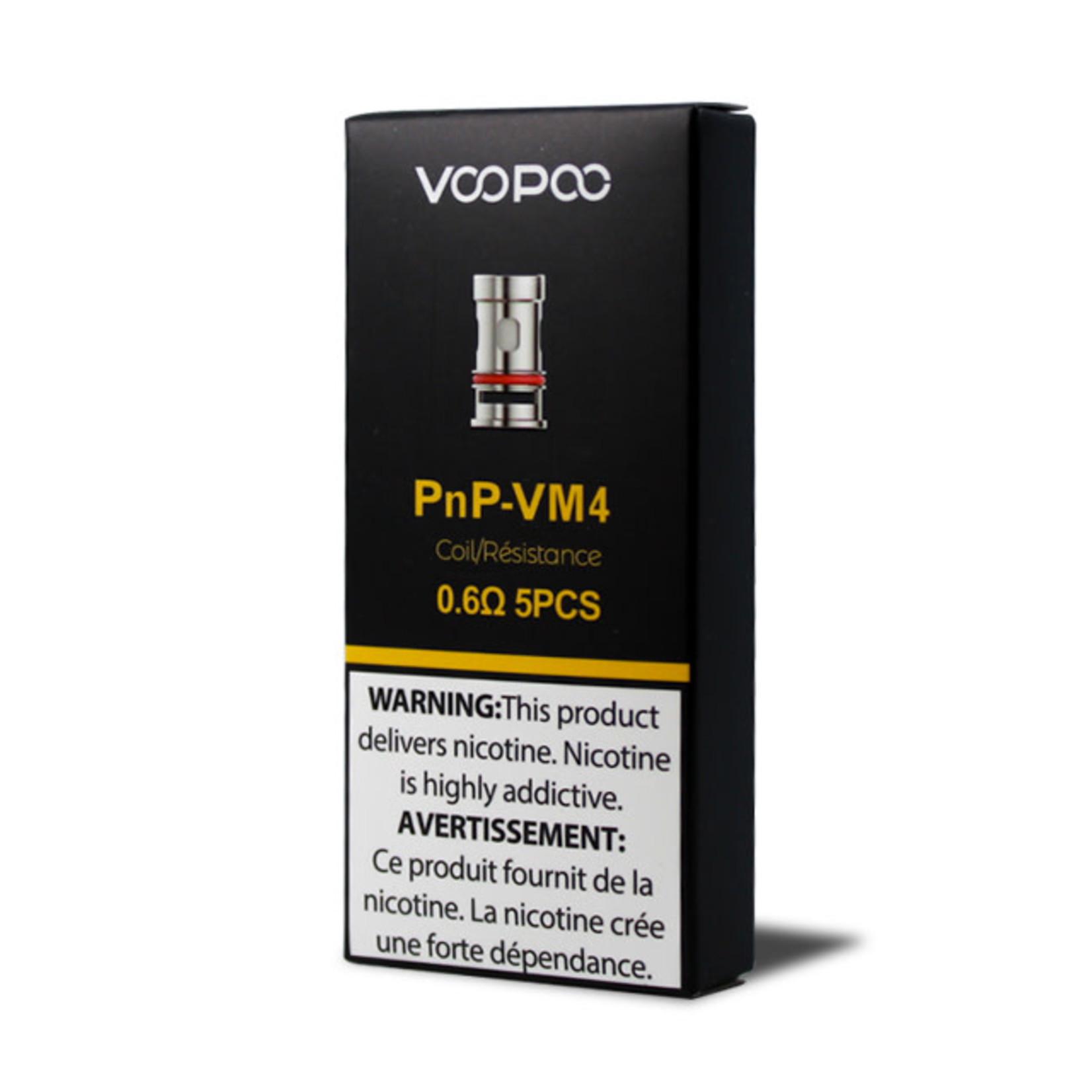 Voopoo Vinci PNP Replacement Coil VM4 0.6 ohm Pack (5pcs)