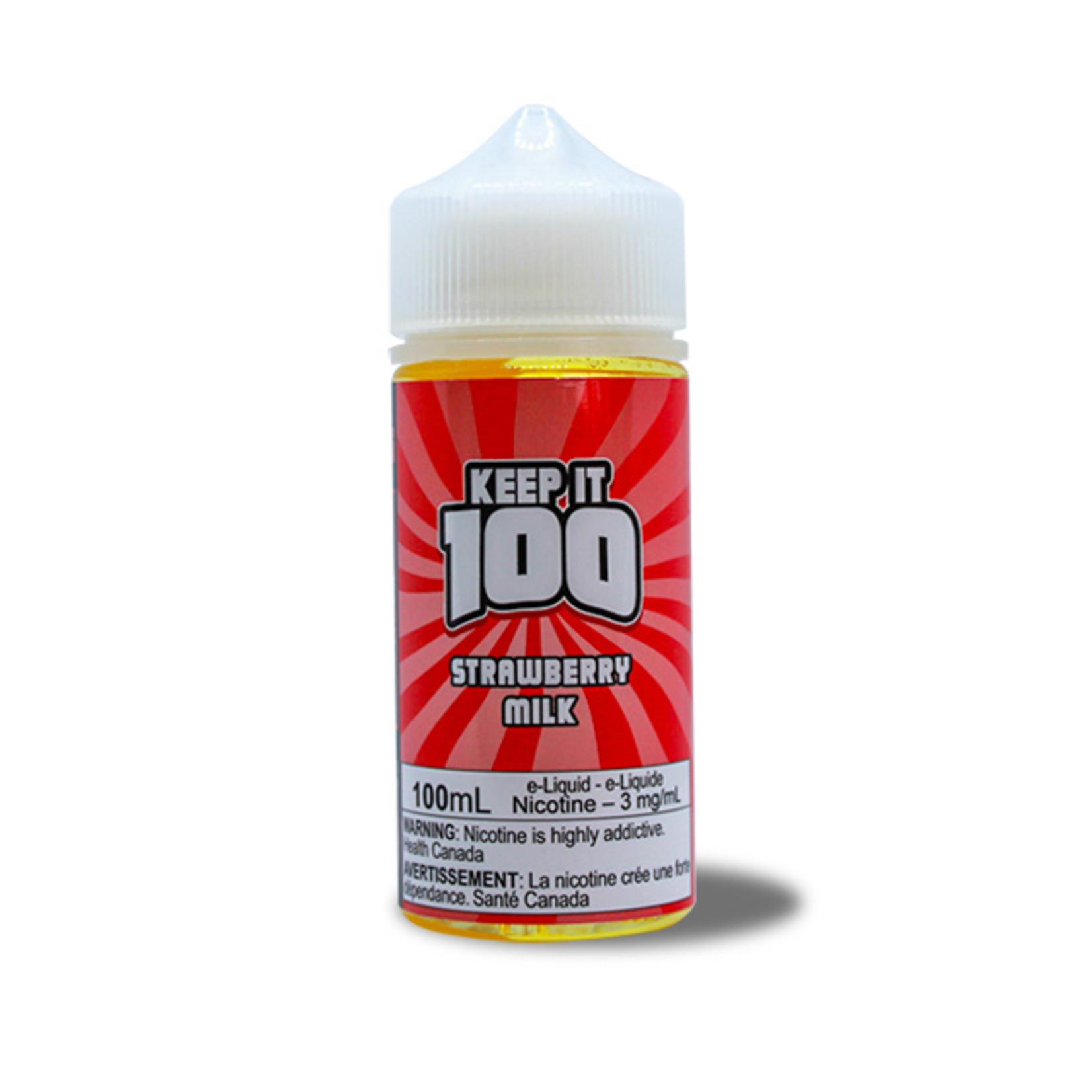 Keep It 100 Strawberry Milk