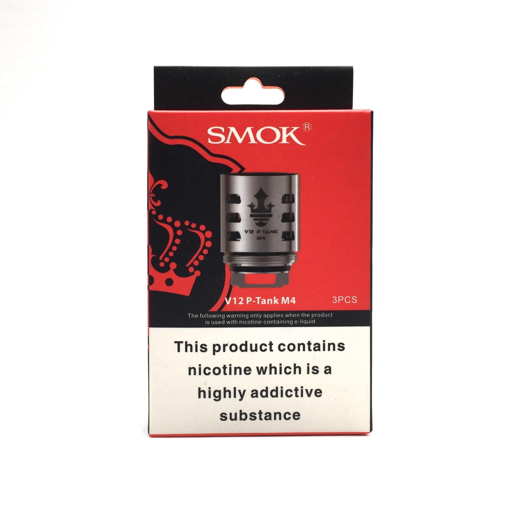 Smok V12 P-Tank Replacement Coils V12 - M4 ( 0.17 OHMS ) Pack ( 3pcs )