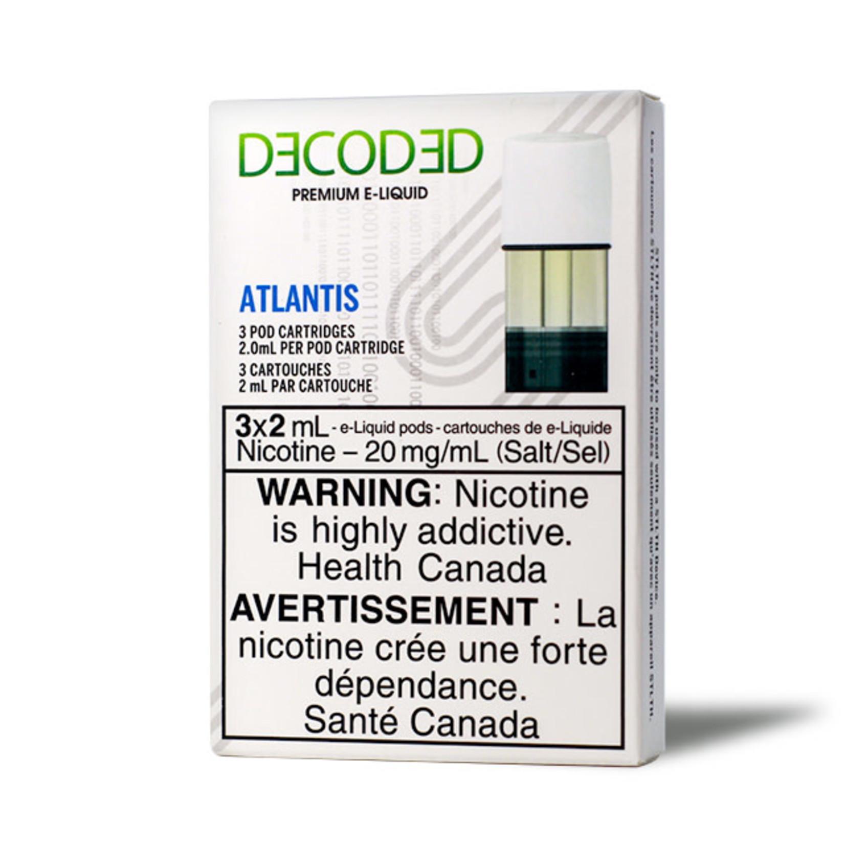 STLTH Pod Pack Decoded Atlantis
