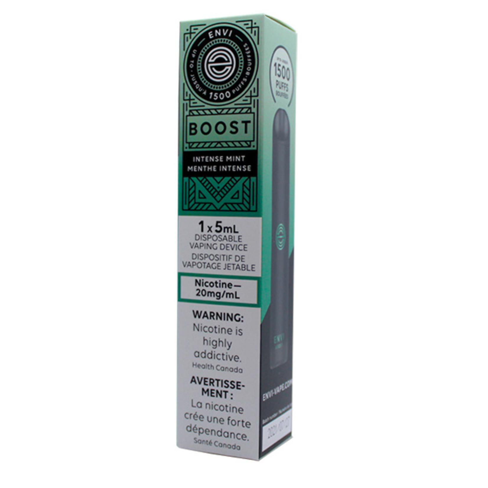 Envi BOOST 1500 Puff Disposable Intense Mint