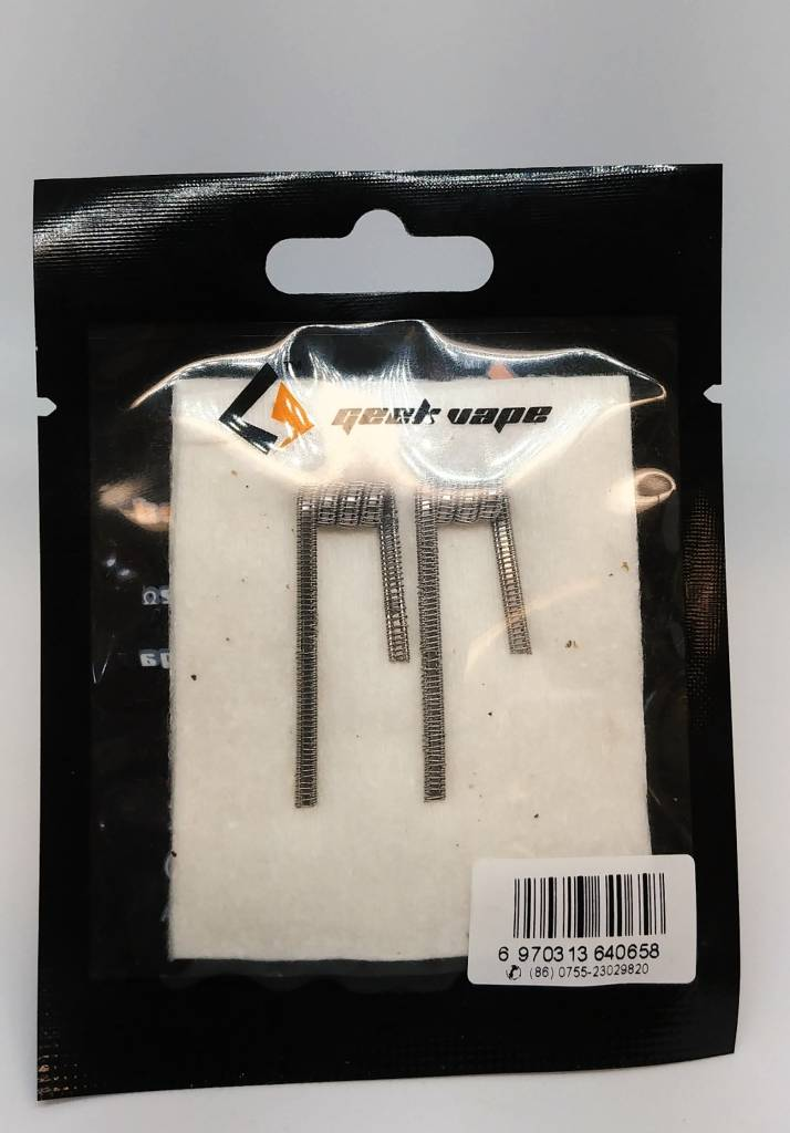 § Geek Vape Staple Staggered Fused Kanthol A1 2pcs