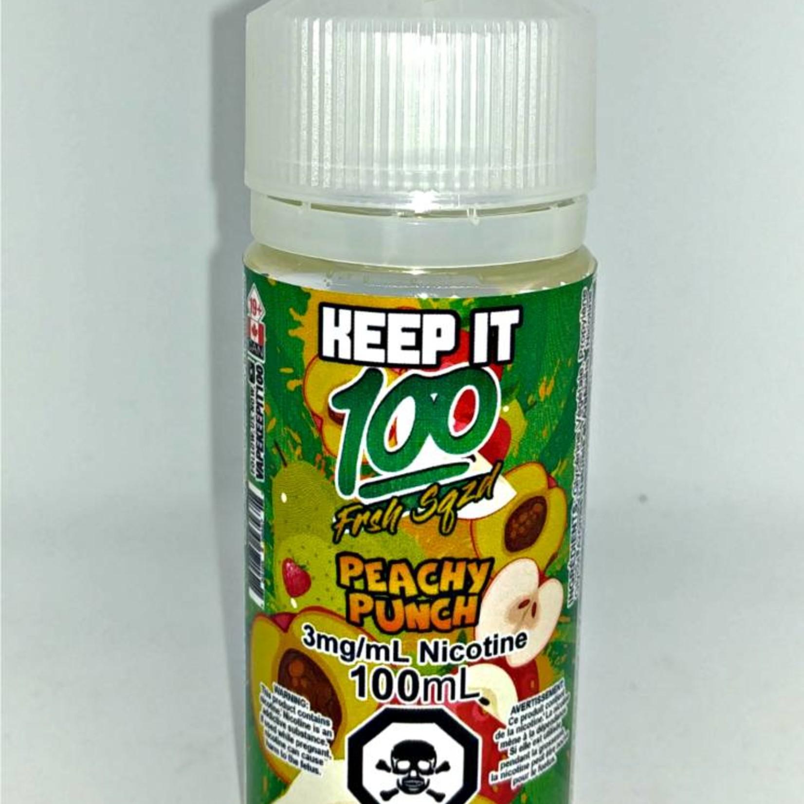 Keep It 100 Peachy Blast