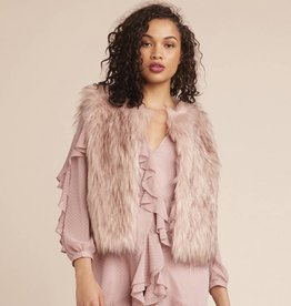BB Dakota Barbarella Faux Fur Vest
