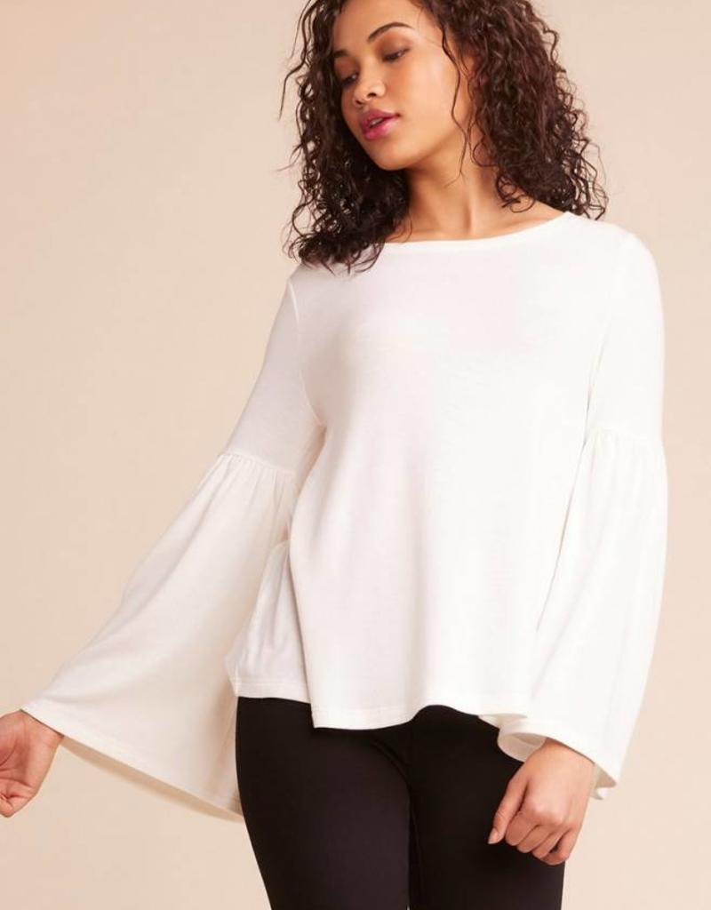Jack by BB Dakota Wonderland Bell Sleeve Top