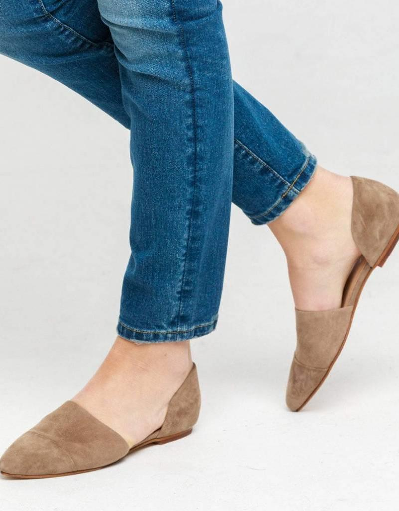 ABLE Sarai D'Orsay Pointed Flats