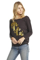Chaser Oh La La Dropped Shoulder Dolman