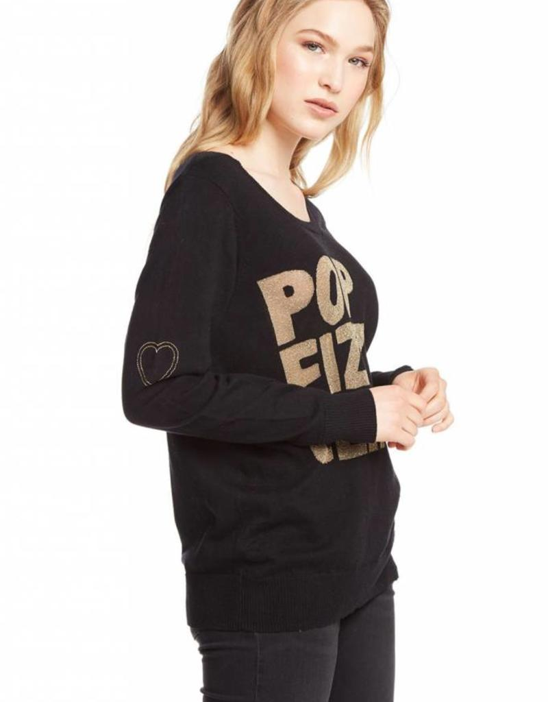 Chaser Pop Fizz Clink Sweater