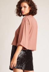 Jack by BB Dakota Time to Shine Sequin Mini Skirt