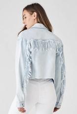 DL1961 Annie Cropped Just Denim Jacket