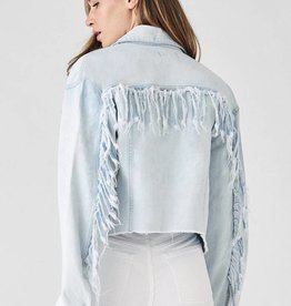 DL1961 Annie Cropped Just Denim Jacket