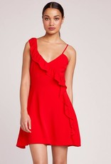 BB Dakota Walk on By Ruffle Dress