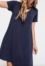 Z Supply Cross Front Tee Dress