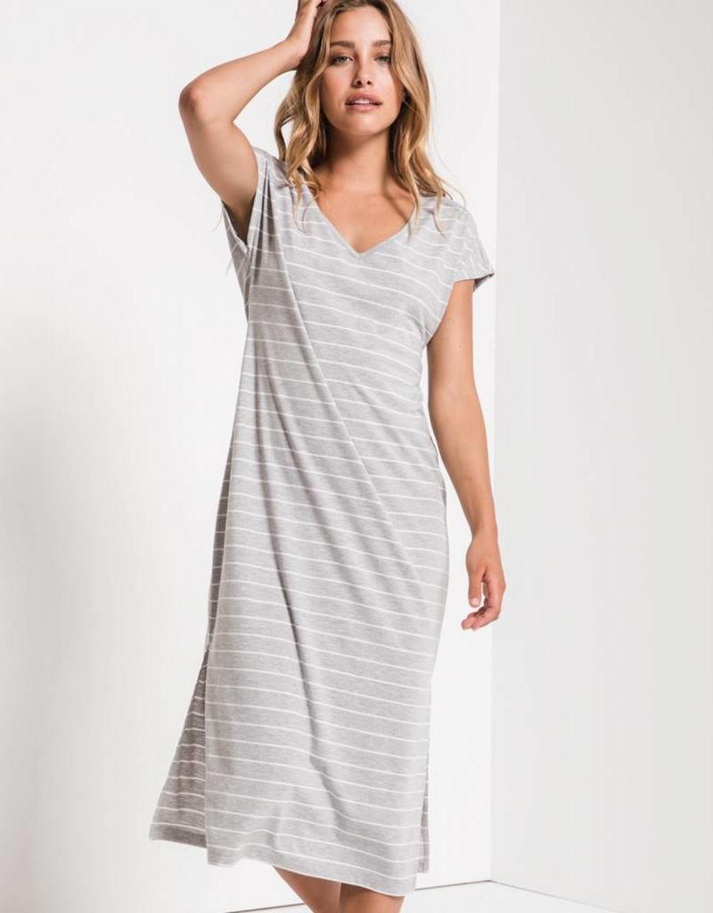 Z Supply The Stripe Midi Drop Dress