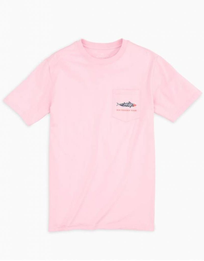 Southern Tide Printed Fish Graphic T-Shirt