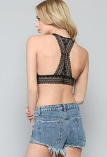 By Together Racerback Lace Padded Bralette