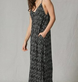 By Together Oversized Maxi Dress Splotch Print