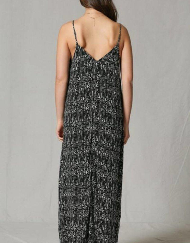 By Together Oversized Maxi Dress Splotch Print