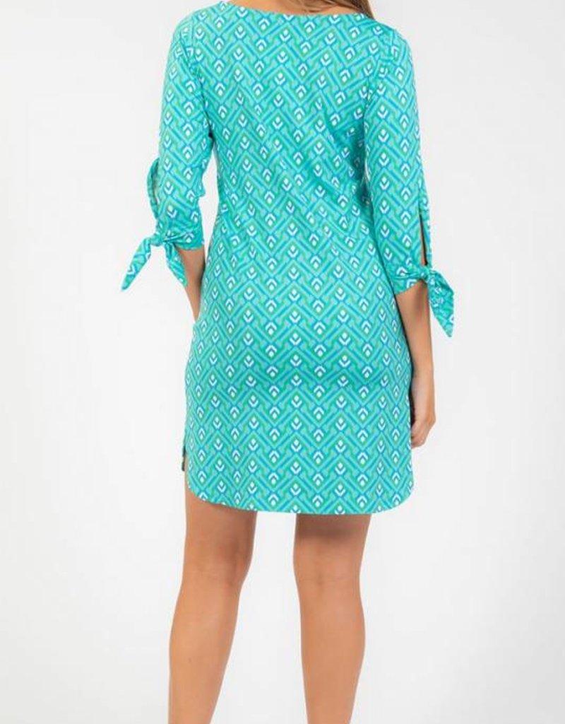 Escapada 3/4 Sleeve Stretch Knit Sibley Dress