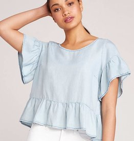 BB Dakota Ruffle and Ready Top