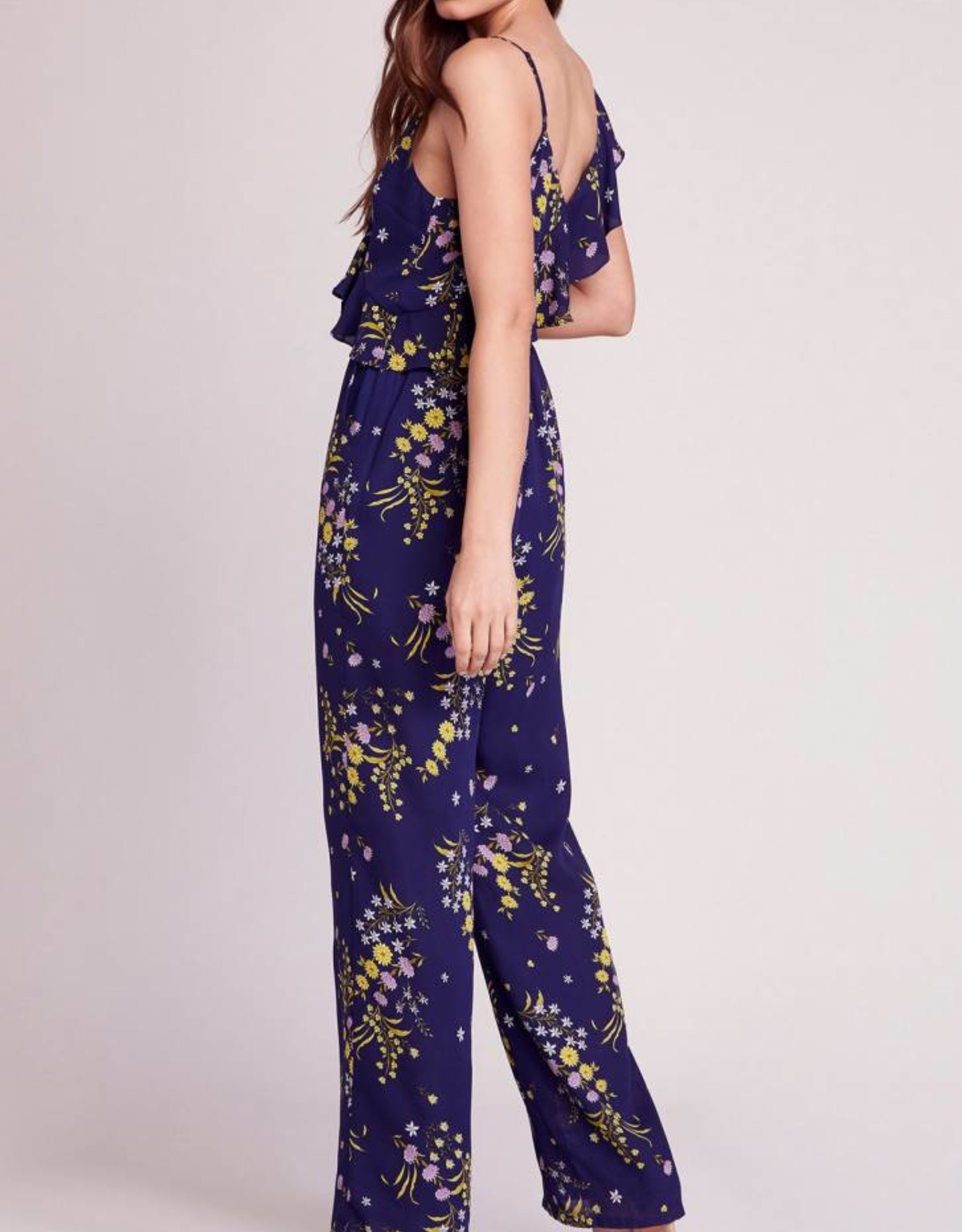 BB Dakota Choosing Sides Floral Jumpsuit