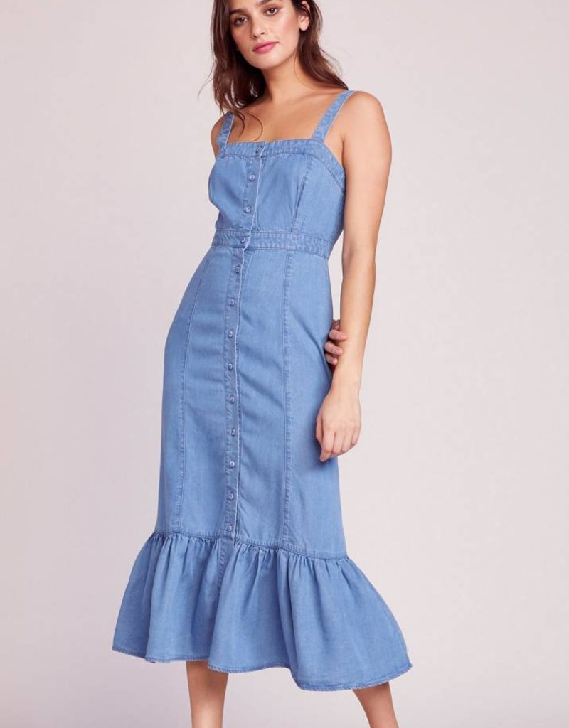 BB Dakota Babe Next Door Denim Dress