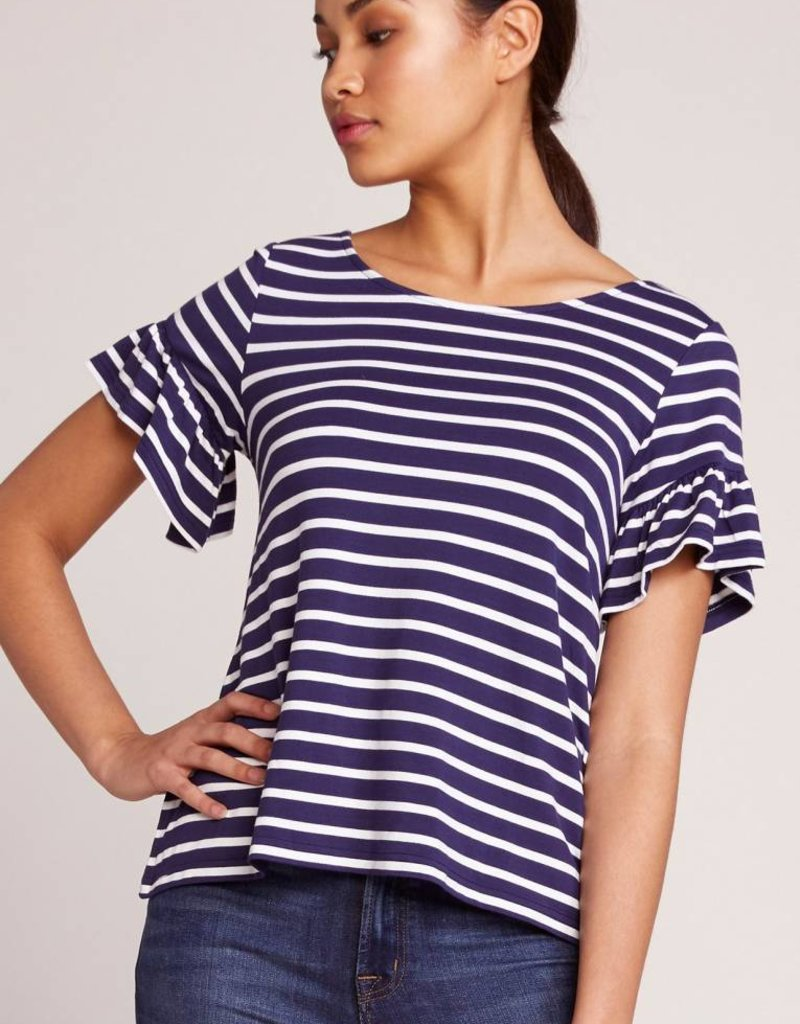 BB Dakota Just Havin' Fun Ruffle Sleeve Top