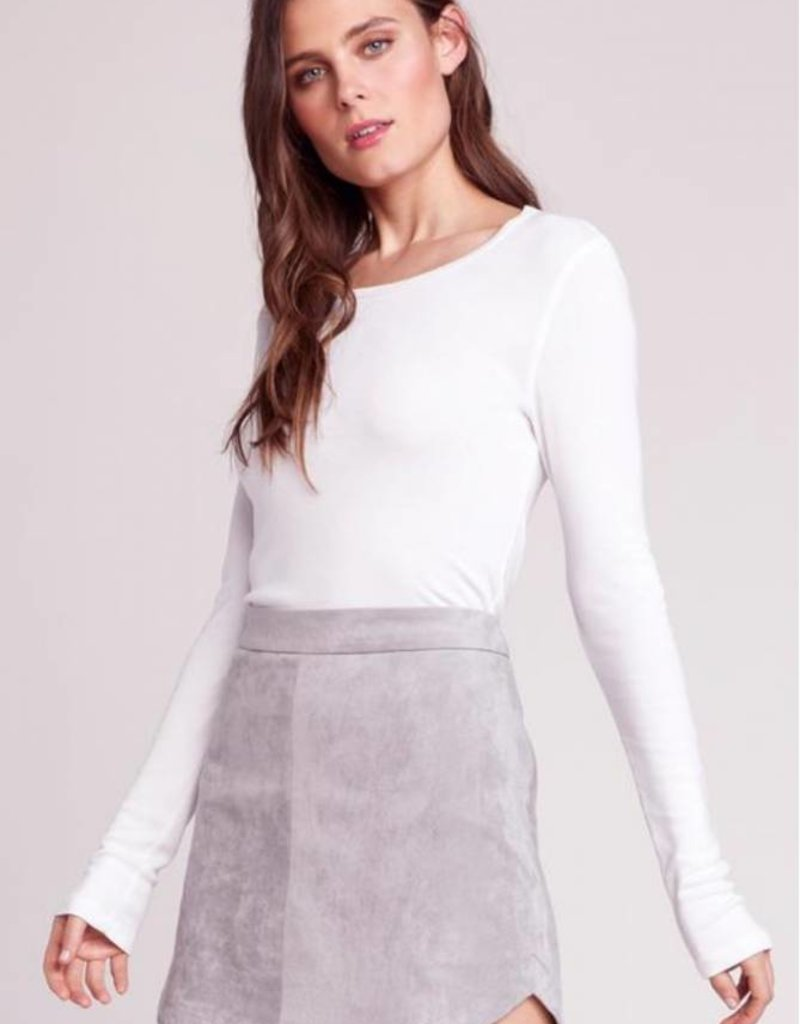 BB Dakota Annette Faux Suede Skirt