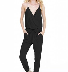 Bobi Surplice Jumpsuit