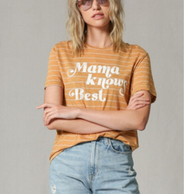 By Together Mama Knows Best Tee