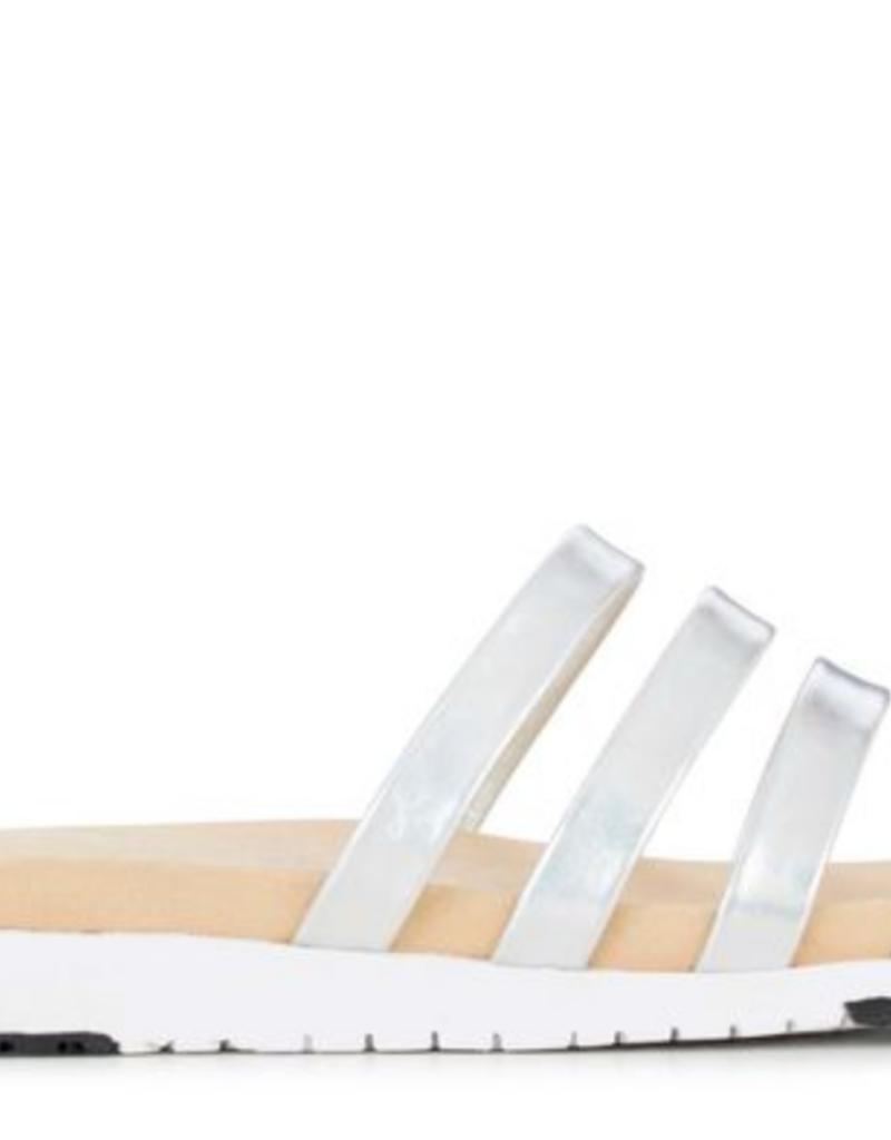Leonora Cow Leather Slide
