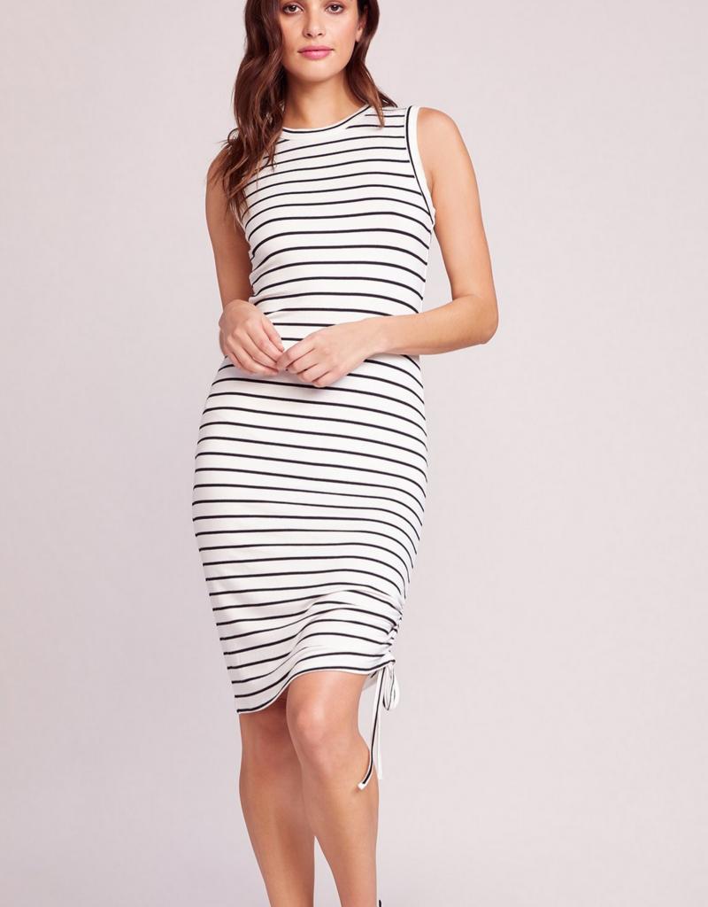 BB Dakota What's The Ruche Stripe Dress