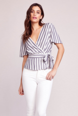 BB Dakota Wrappers Delight Wrap Top
