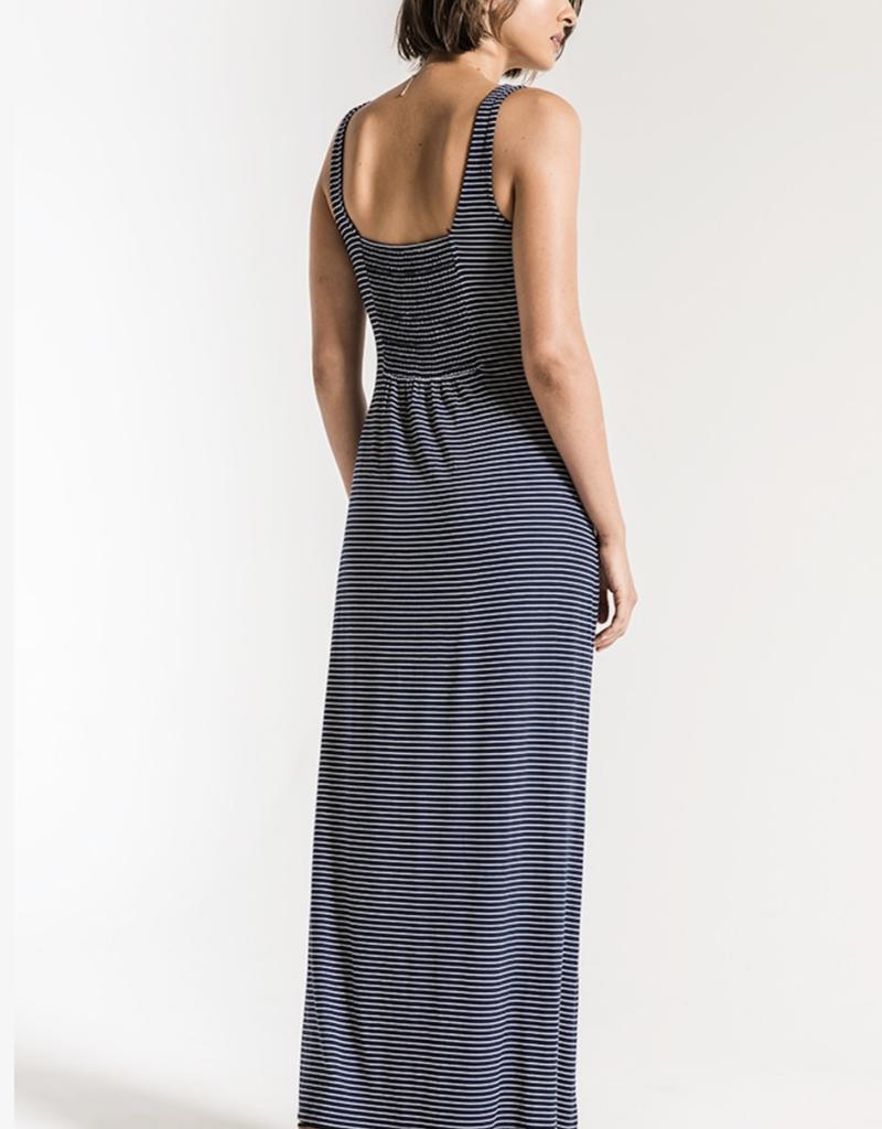 Z Supply Micro Stripe Maxi Dress