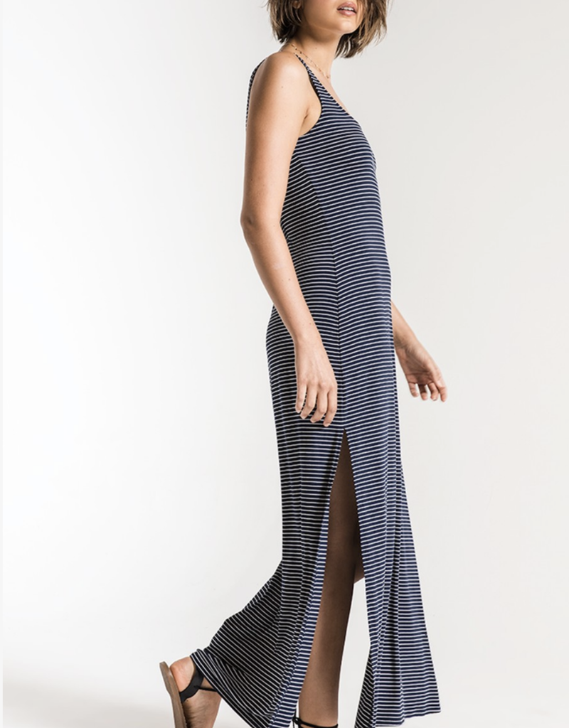 Z Supply Micro Stripe Maxi Dress