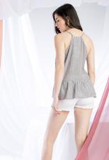 THML Stripe Linen Top
