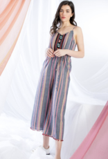 THML Multicolored Stripe Jumpsuit