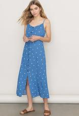 Tassel Tie Strap Midi Dress
