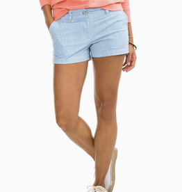 Southern Tide Leah 3in Seersucker Shorts