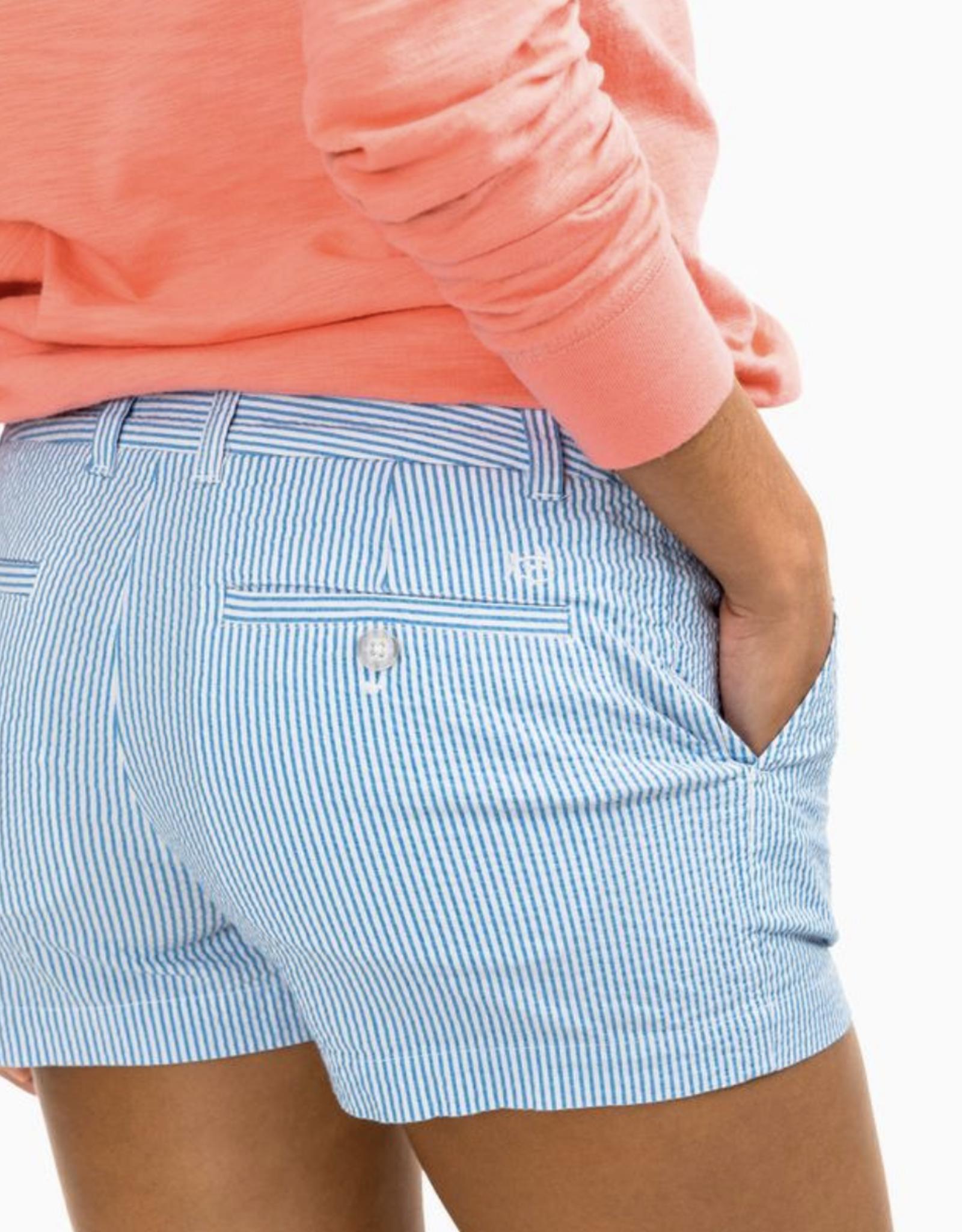 Leah 3in Seersucker Shorts