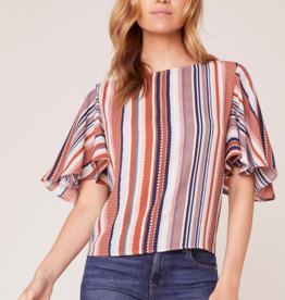 Jack by BB Dakota Flutter By Flutter Sleeve Top