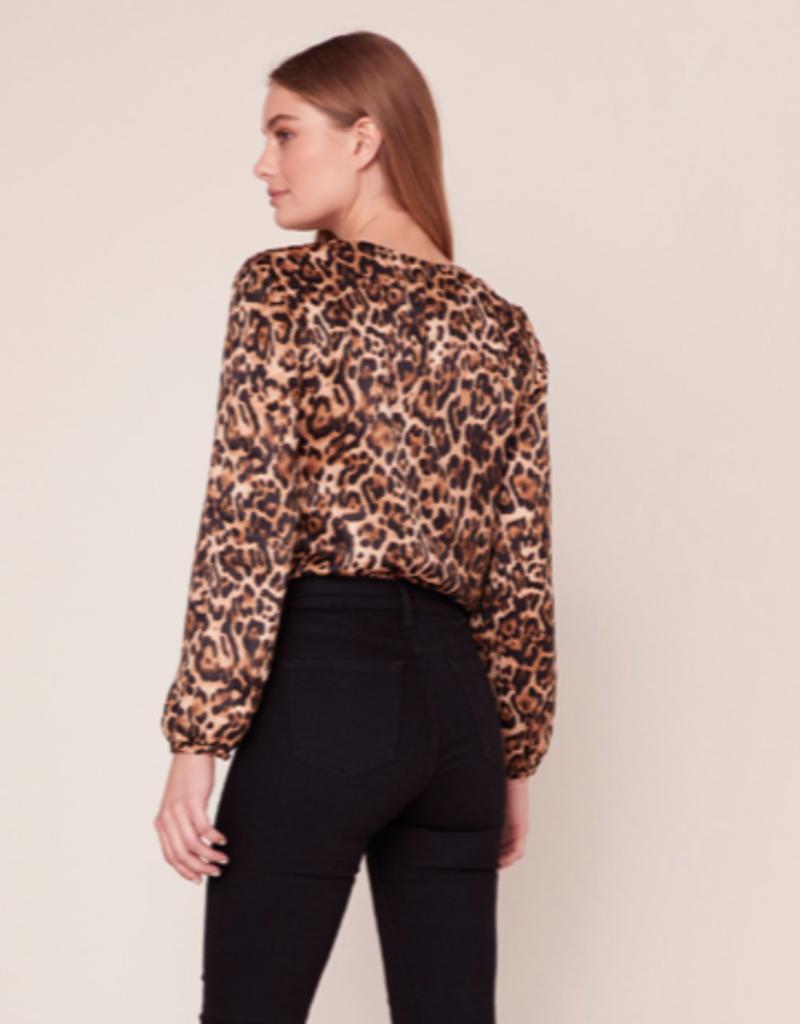 BB Dakota Ride Or Tie Leopard Print Bodysuit