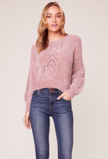 BB Dakota Chenille My Love Sweater