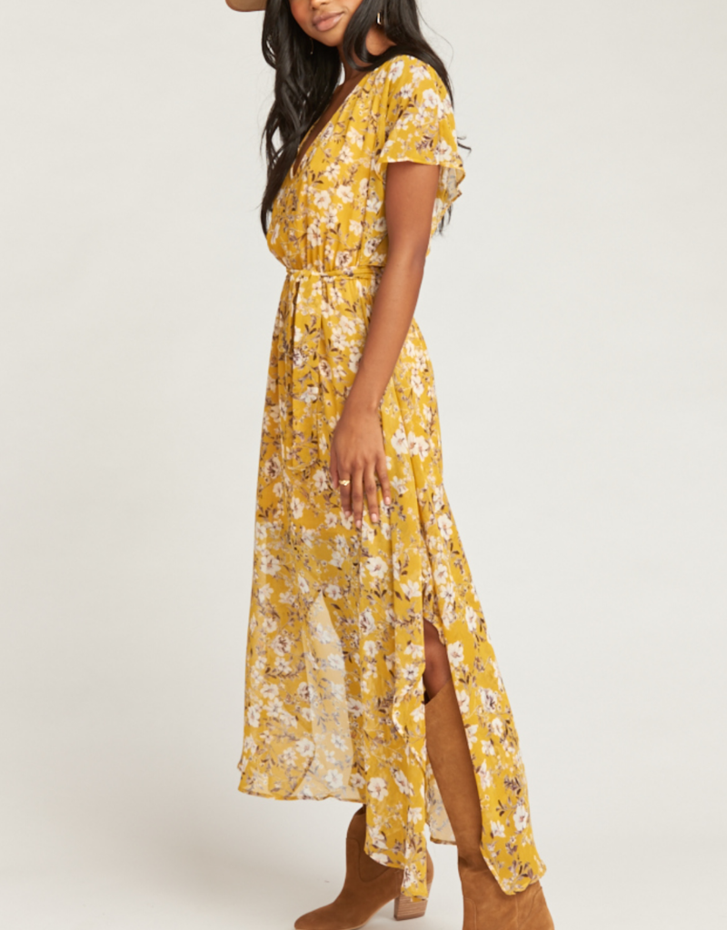 Show Me Your Mumu Paloma Flutter Dress