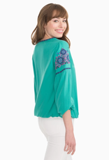 Long Sleeve Sienna Embroidered Top