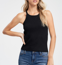 Papermoon Noelle Knit Halter Top