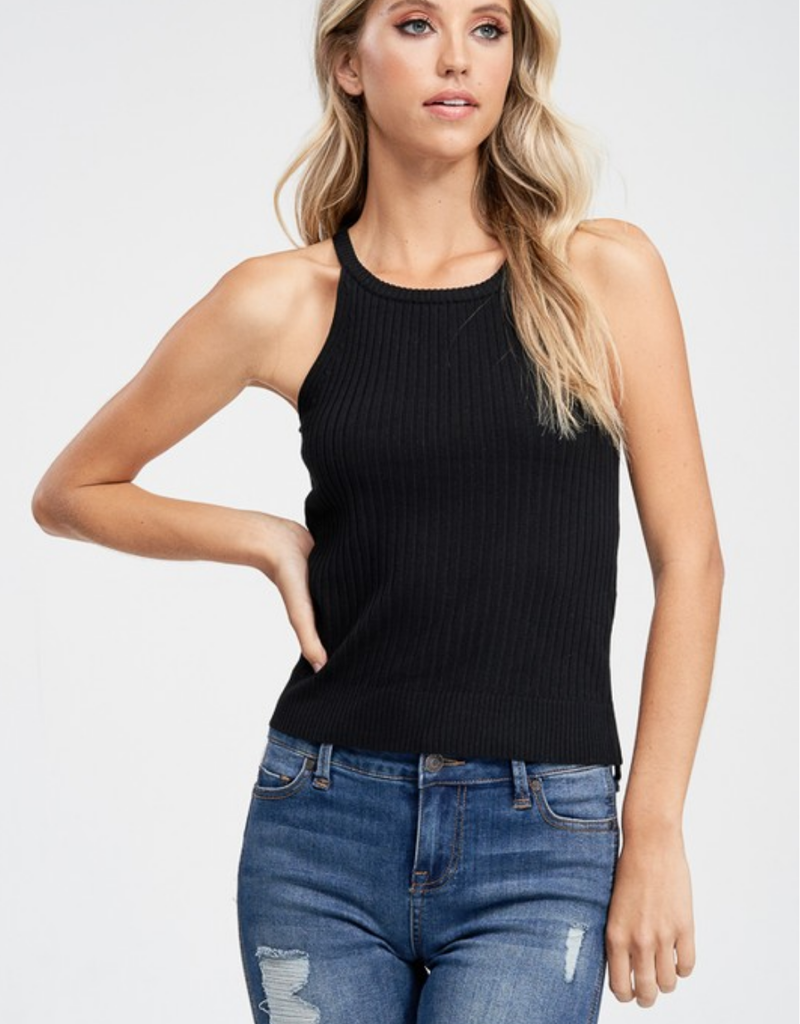 Noelle Knit Halter Top