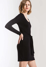Z Supply Marled Wrap Front Dress
